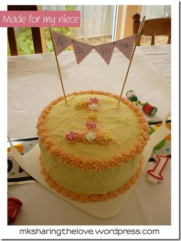 Iris birthday cake
