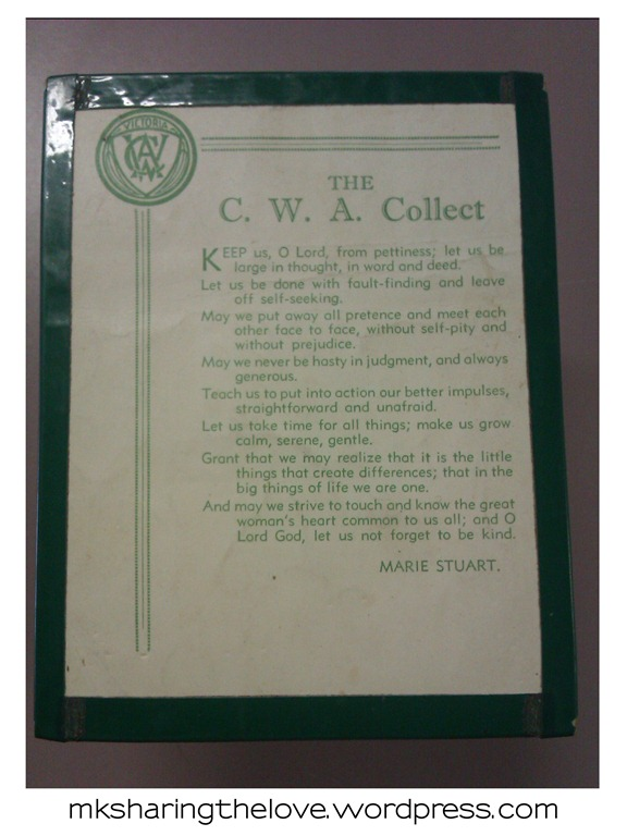CWA collect